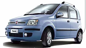 fiat panda car to hire by manos car rentals